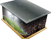 Football Stadium Design Casket