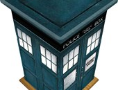 Police Box Design Casket