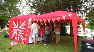 PIMMS Tent by the river