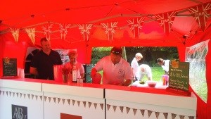 PIMMS Tent Selling over £2000 of the Traditional English drink